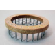"""Queen Marking Cage - Push-in """"Crown of Thornes"""" type - Wood & Wire"""