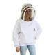 Bee Jacket - Buzz Workwear - Fencing Mask - 8 Sizes - White