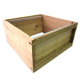 Standard Brood Box  - National - Cedar - including Metal Runners - Flatpack - No Frames - 1st Quality